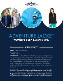 Adventure Jacket (5087/9087) - Healthcare/Hospitals