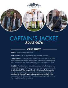Captain's Jacket (9076) - Team/Sports