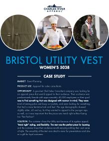 Bristol Utility Vest (5038) - Event Planning