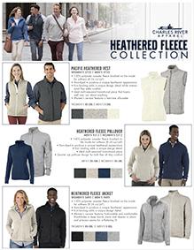 Heathered Fleece Collection Flyer