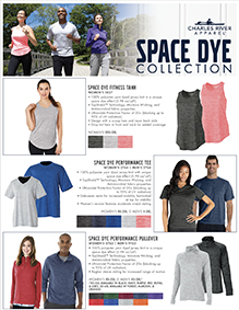 Space Dye Collection Flyer